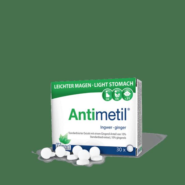 Антиметил (Antimetil) таблетки x30